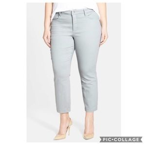 NYDJ Audrey High-Rise Ankle Straight Jean